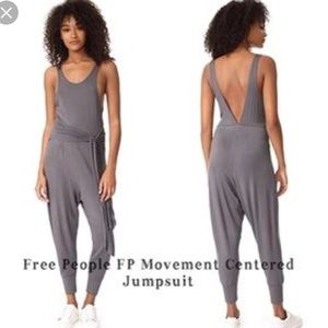 Free people centered jumpsuit